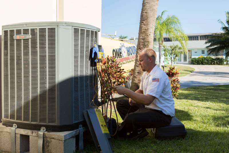 Emergency Air Conditioner Repair in St. Mary's